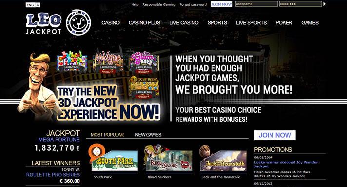 LeoJackpot casino anmeldelse