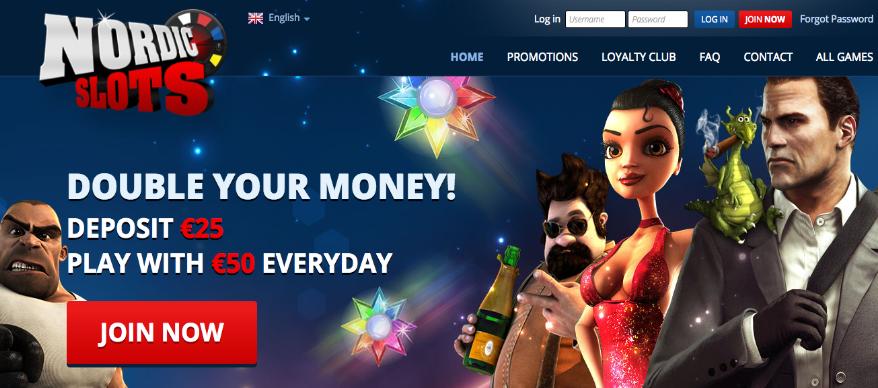 NordicSlots casino anmeldelse