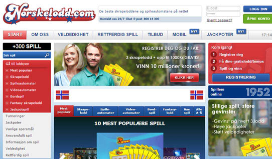Norskelodd casino anmeldelse