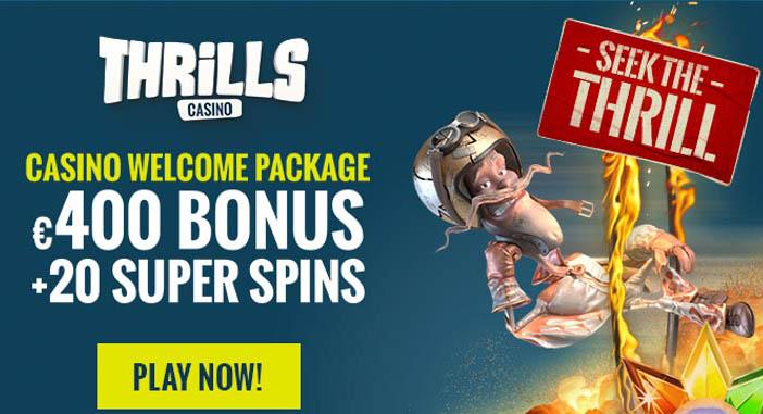 Anmeldelse av Thrills casino